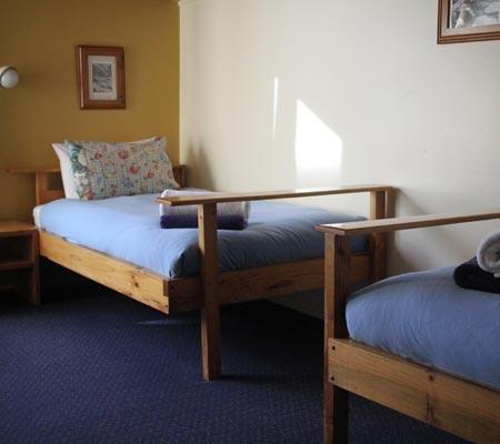Twin room at Snowbird Ski Lodge