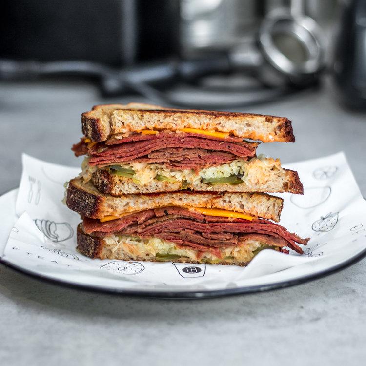 Shift's Rueben sandwich.