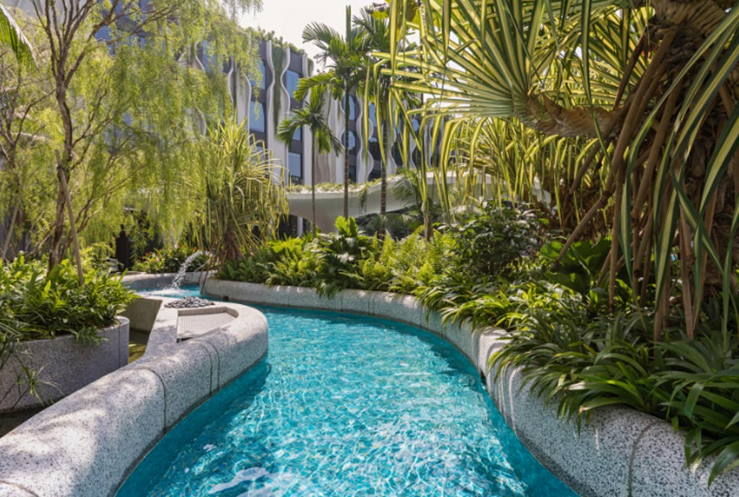 hotels with lazy rivers