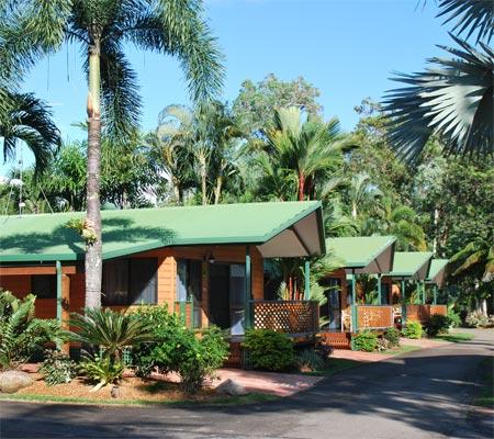 Spa Villa at BIG4 Beachcomber Coconut Holiday Park
