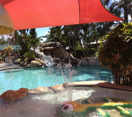 Pool at BIG4 Beachcomber Coconut Mission Beach Holiday Park