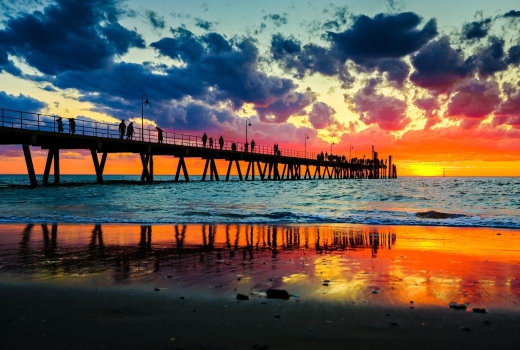 Glenelg Beach Adelaide SA