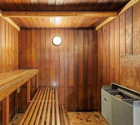 Sauna at Discovery Parks – Jindabyne