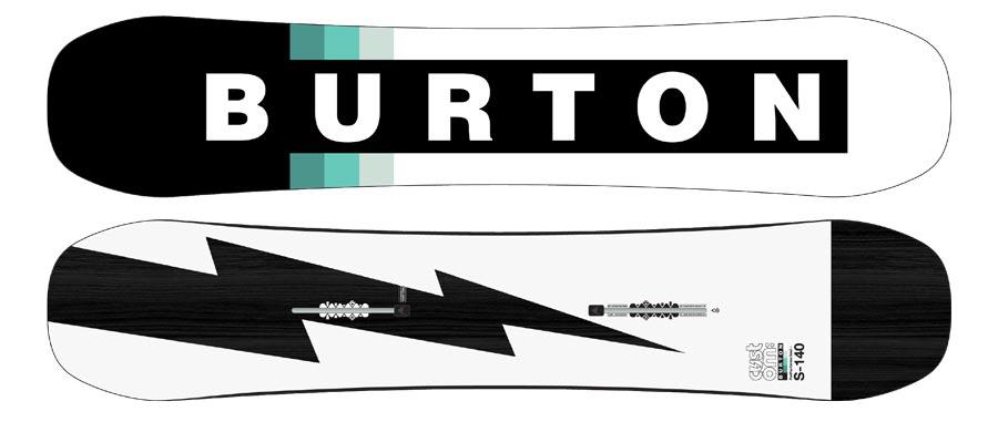 Kids' Burton Custom Smalls Camber Snowboard