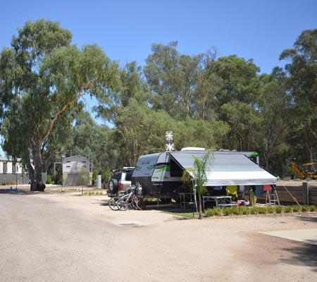 Powered Site at Merool Holiday Park