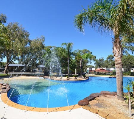 Pool at Merool Holiday Park