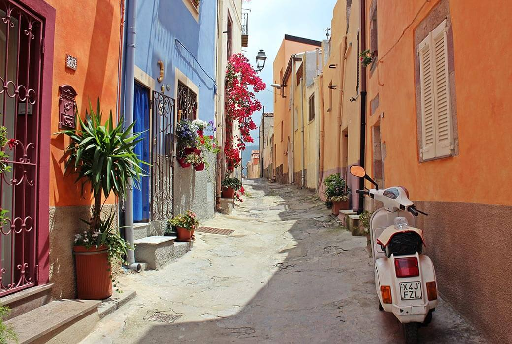 The colours of Italy