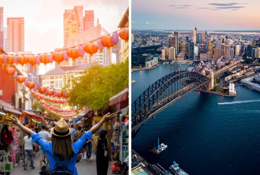 Singapore travel bubble Australia