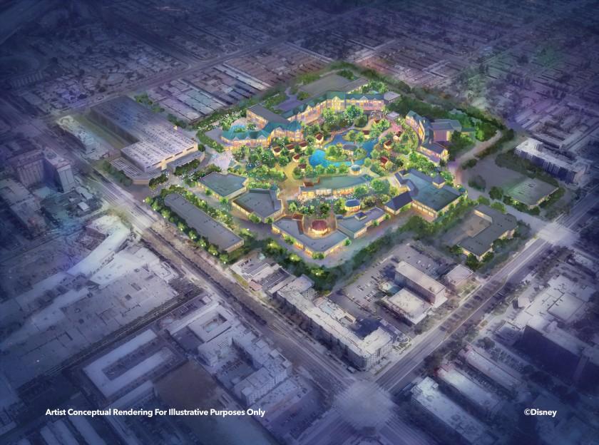 new Disneyland expansion plan