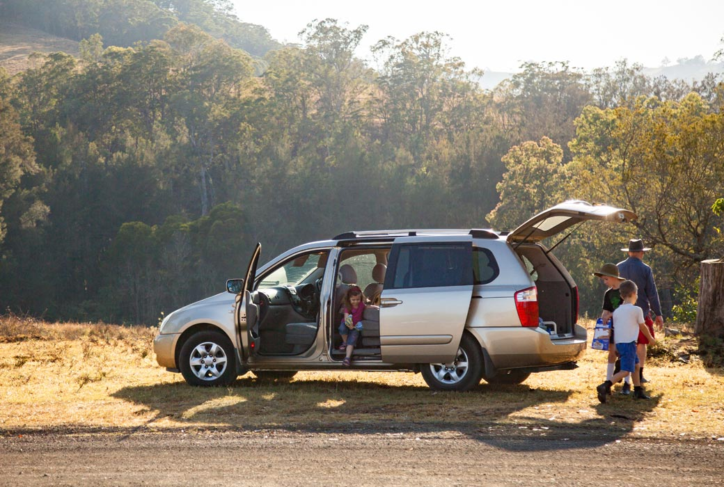 Road trip tips: Be ready for plenty of rest stops and let the kids release some energy.
