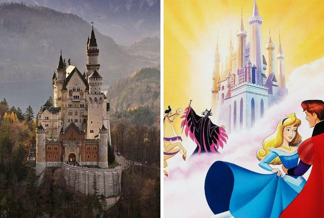 Neuschwanstein Castle and Sleeping Beauty