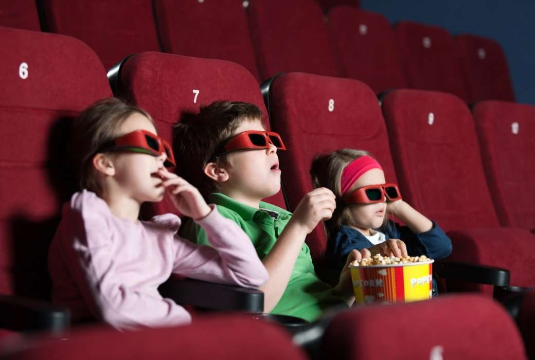 Kids at the movies. Source: Canva