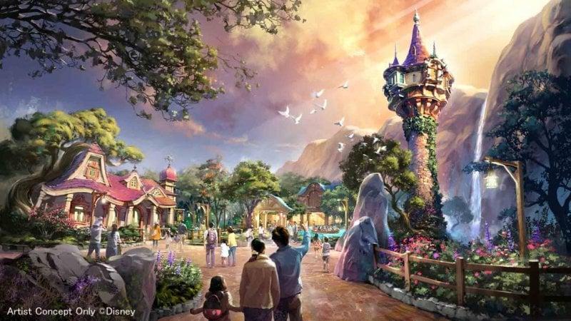 Tangled Port in Fantasy Springs Tokyo DisneySea