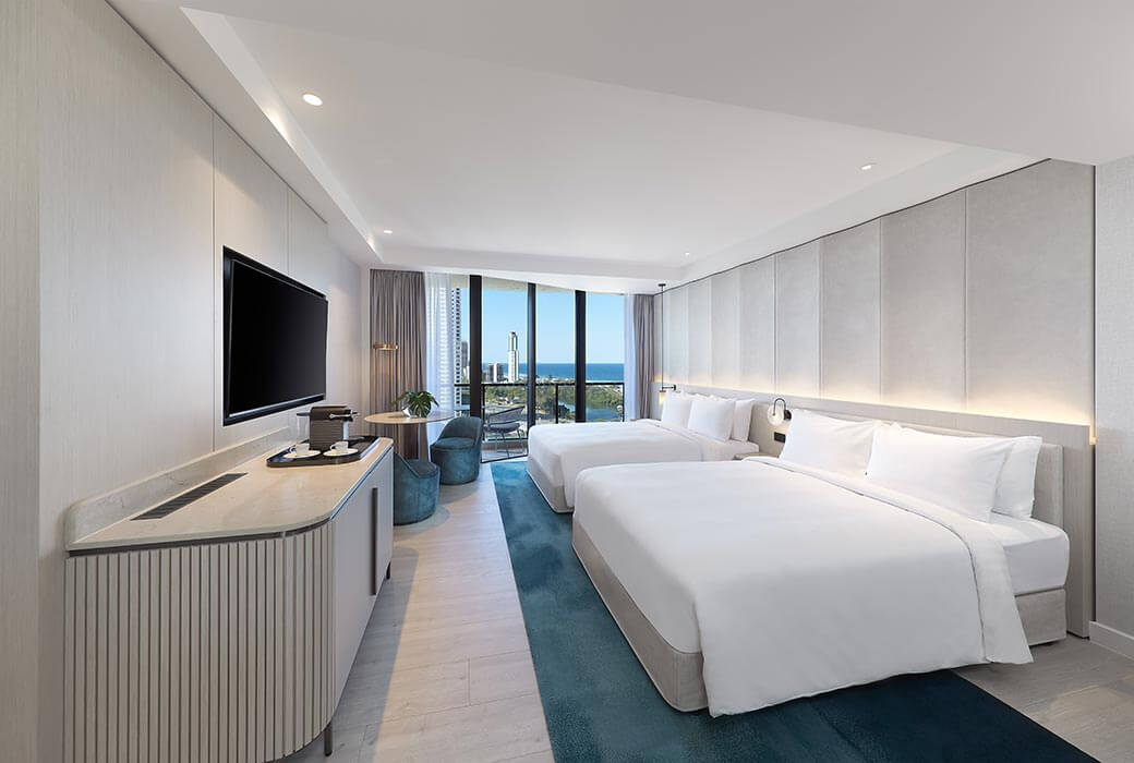 Ocean Twin Main Room