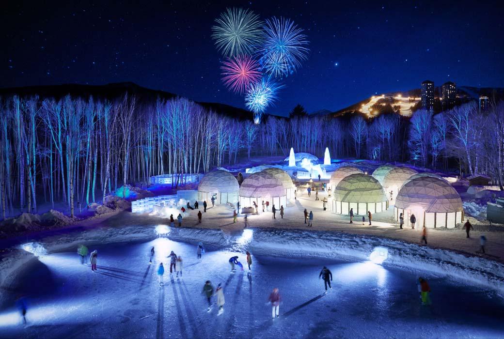 Ice Village at Hoshino Resorts Tomamu