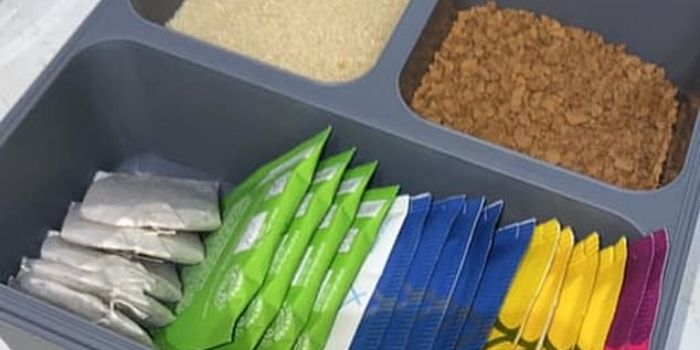 Kmart packing hack tea