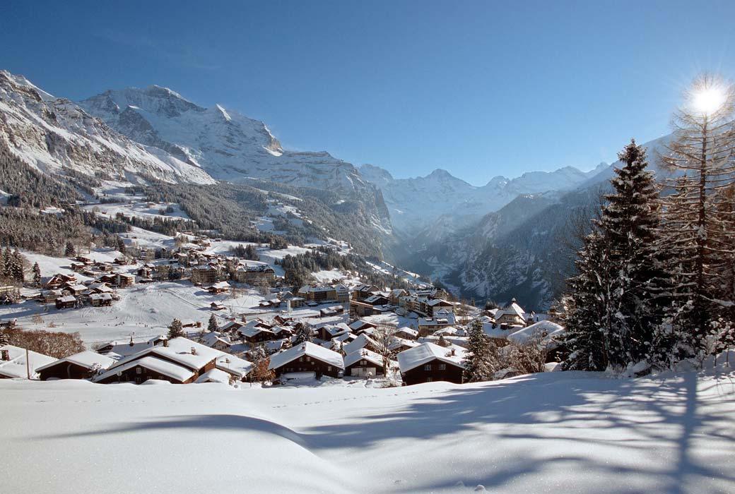 Wengen Swiss Alpine Village