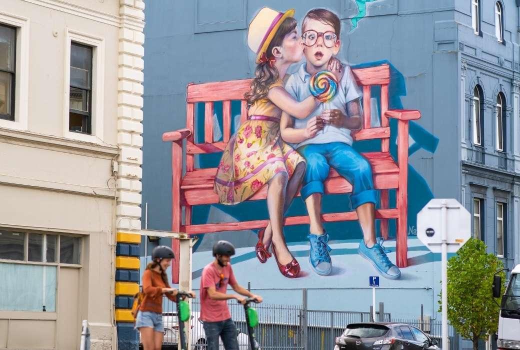 Dunedin Street Art © Dunedin NZ