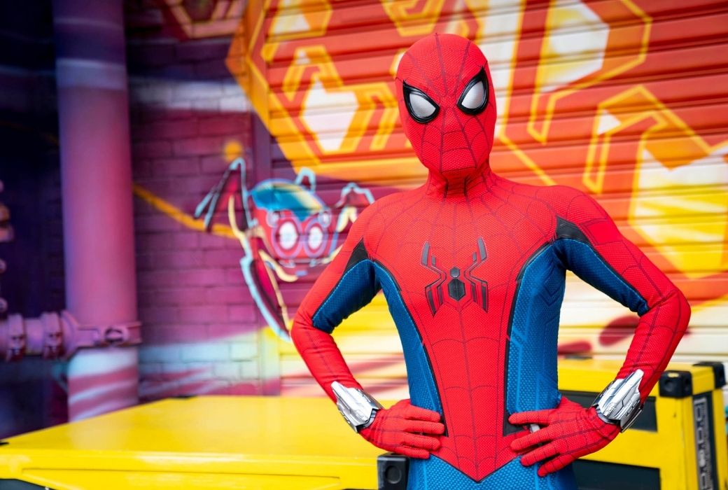 Disneyland Avengers Campus.