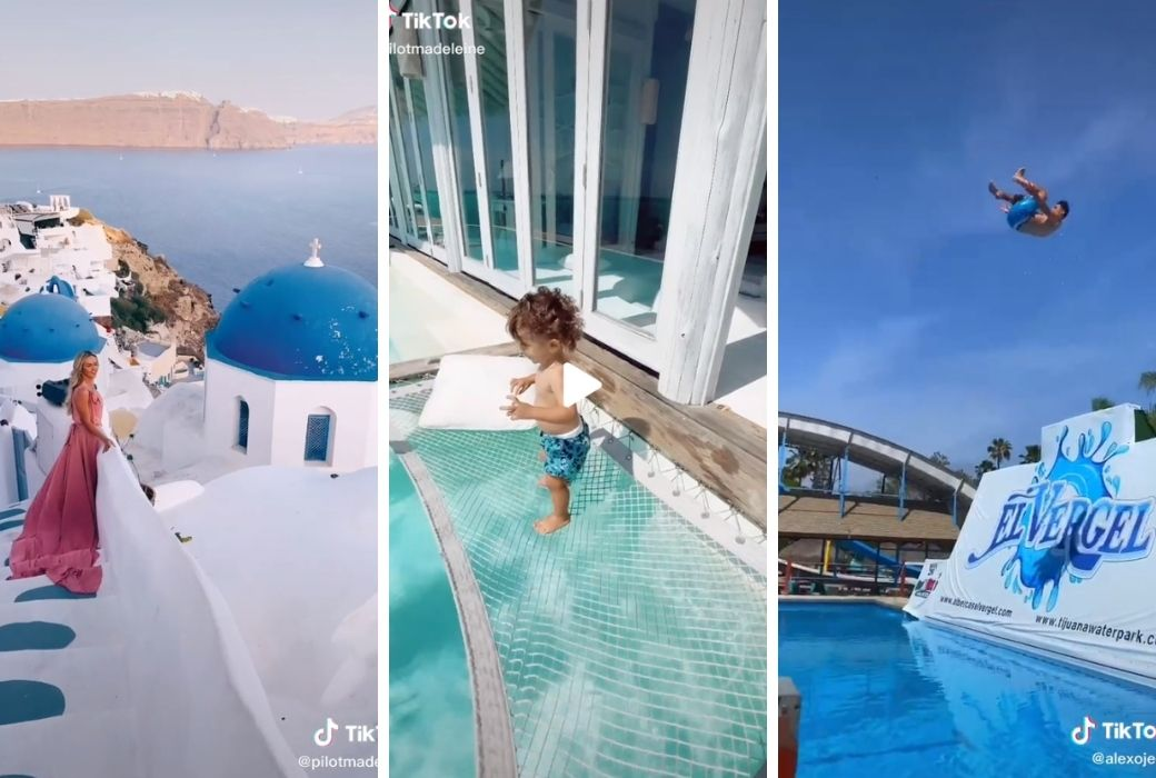 TikTok travel influencers