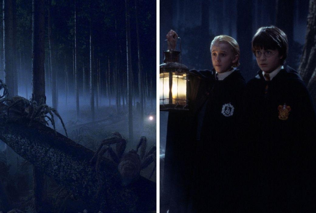 harry Potter Forbidden Forest