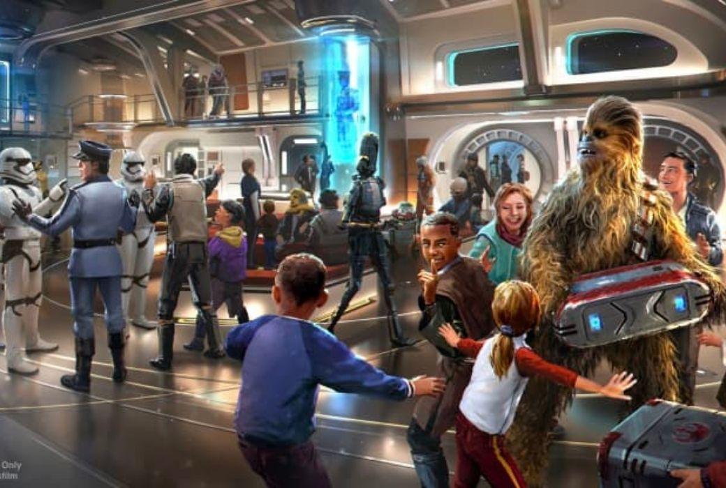Star Wars Hotel opening date