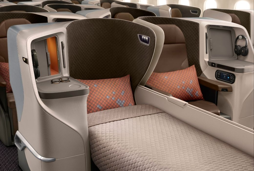 KrisFlyer for families SIngapore Airlines business class
