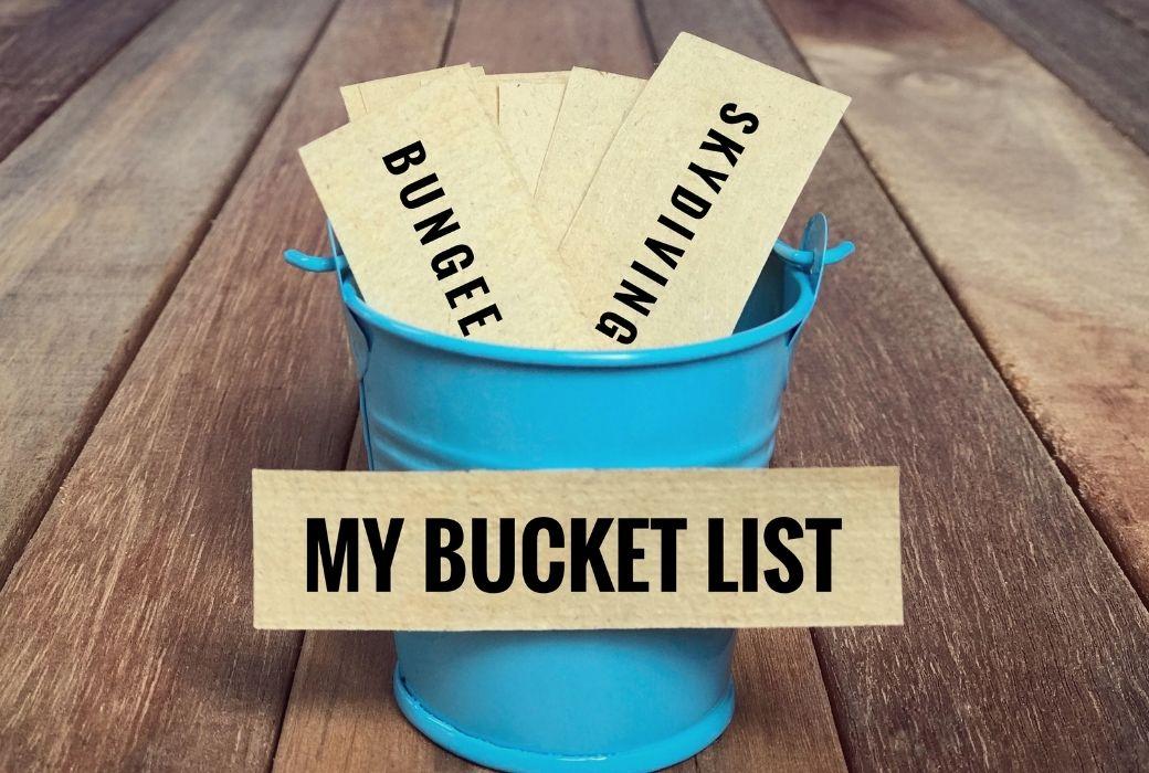 lockdown lists are a lot like bucket lists