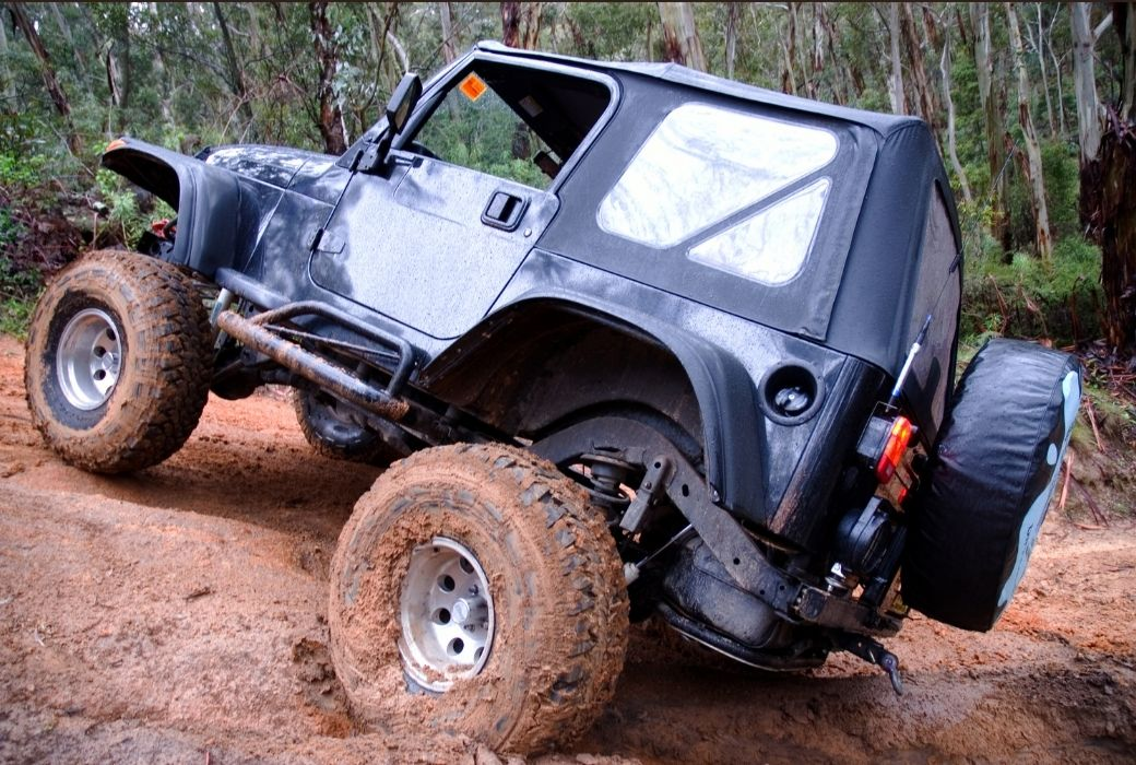 4X4 driving Australia