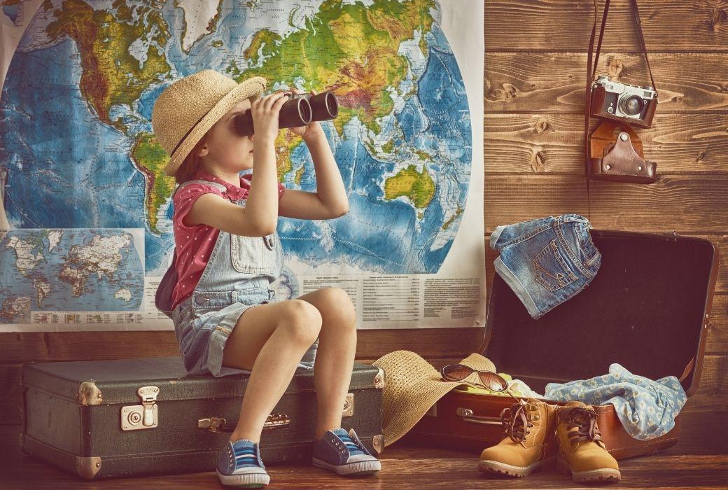 child travel map