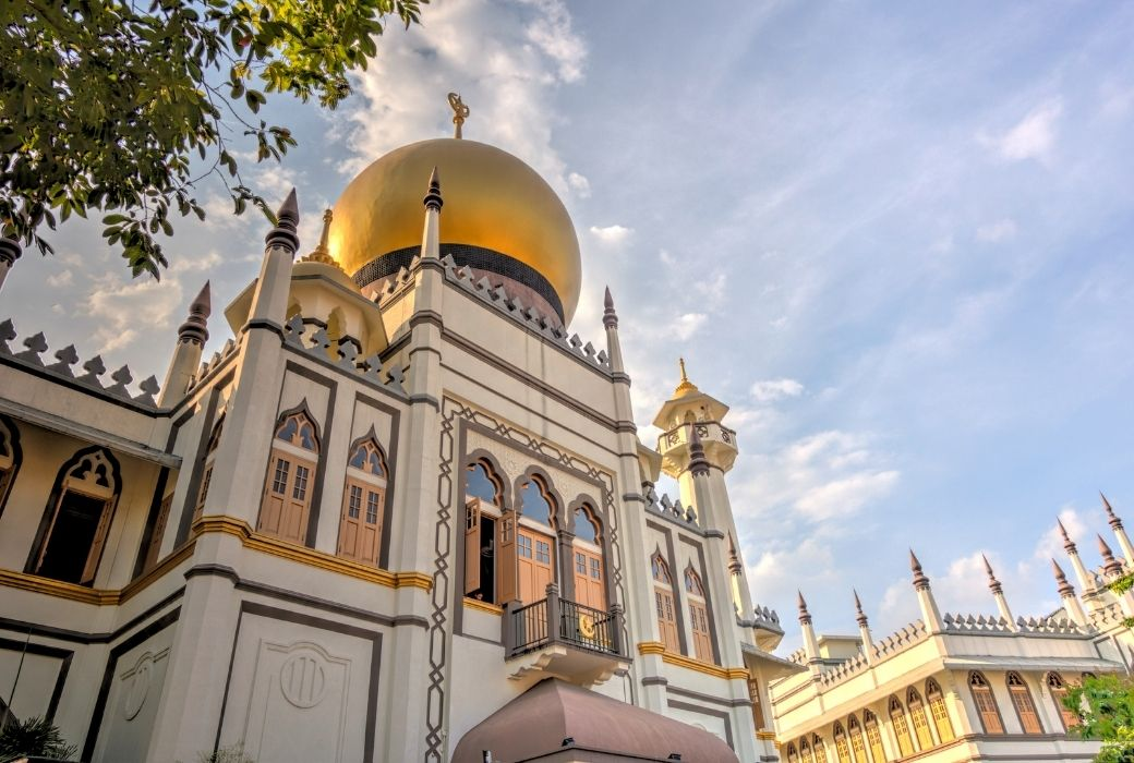 Singapore with kids Sultan Mosque