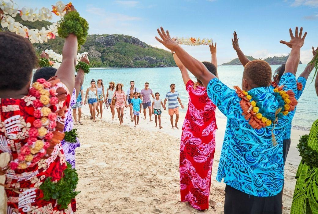 Fiji welcome