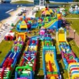 The world's biggest jumping castle is touring Australia and it's EPIC